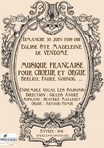 MUSIQUE FRANÇAISE du 19e (Fauré, Gounod, Franck, ...)