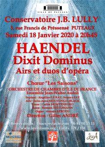 DIXIT DOMINUS - Haendel
