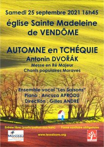 Automne en TCHÉQUIE - Antonin DVORÁK